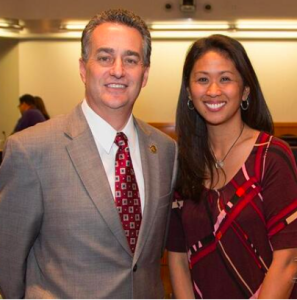 Supervisor Mike Wasserman, one of my biggest supporters